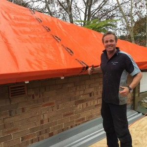 Stormseal allows renters to stay in storm-damaged home