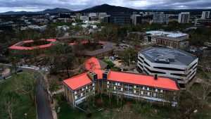 Aussie Stormseal innovation being fitted in Canberra to protect iconic hail-damaged buildings