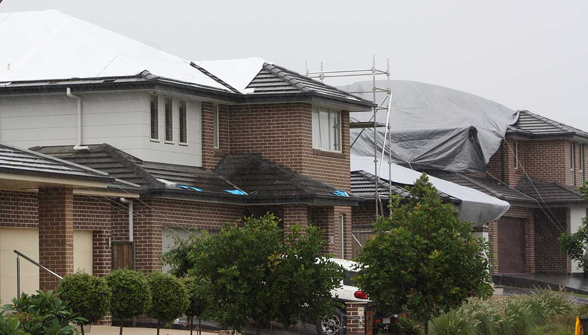 Storm damage cost in Kellyville, March 2017