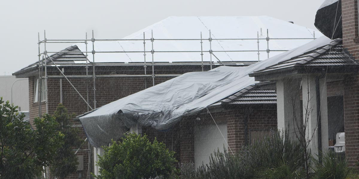 Protection call after hail