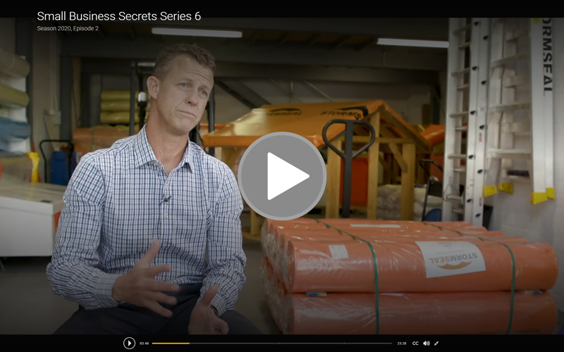 As seen on SBS Small Business Secrets: The Australian builder protecting storm victims around the globe